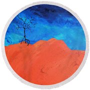 Utah Round Beach Towel