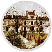 Utrillo: Montmagny, 1908-9 Round Beach Towel