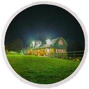 Valcour Conference Center Wedding And Meetings - Brighter Exposure Round Beach Towel