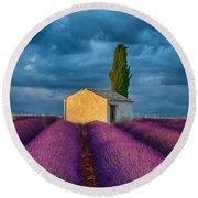 Valensole Shed Round Beach Towel