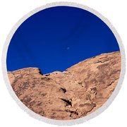 Valley Of Fire State Park Round Beach Towel