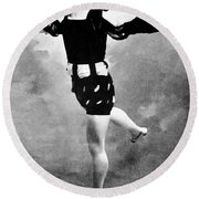 Vaslav Nijinsky, Ballet Dancer Round Beach Towel