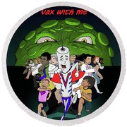 Vaxwithme Round Beach Towel