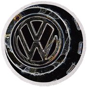 VW3 Round Beach Towel