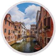 Venice, Italy Round Beach Towel