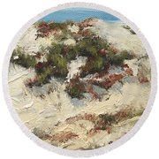 Ventura Dunes I Round Beach Towel