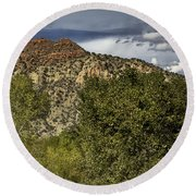 Verde Canyon Round Beach Towel