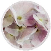 Verging On Violet Round Beach Towel