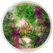 Vernal Equinox Round Beach Towel