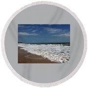 Vero Beach Surf Round Beach Towel