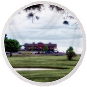 Vesper Hills Golf Club Tully New York 03 Round Beach Towel