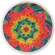 Vibe Round Beach Towel