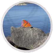 Viceroy Red List Endangered Series Round Beach Towel