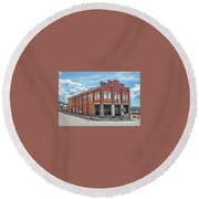 Victor Elks Lodge Round Beach Towel