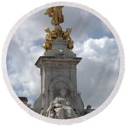 Victoria Memorial Round Beach Towel
