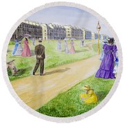 Victorian Filey Round Beach Towel