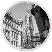 Vienna  Round Beach Towel