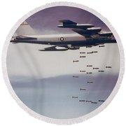 Vietnam War, B-52 Stratofortress Round Beach Towel