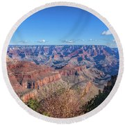 View From The South Rim Round Beach Towel