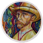 Vincent Round Beach Towel