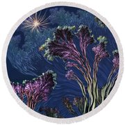Vincent's Reef Round Beach Towel