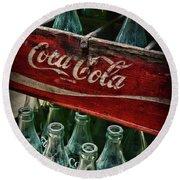 Vintage Coca Cola 1 Round Beach Towel