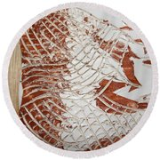 Visions - Tile Round Beach Towel