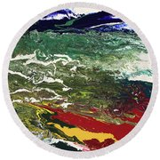 Vista Round Beach Towel