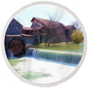 Vista Series 1319 Round Beach Towel