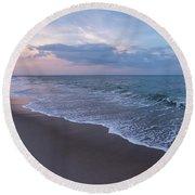Vitamin Sea Lavallette Beach Nj  Round Beach Towel