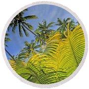 Viti Levu, Coral Coast Round Beach Towel