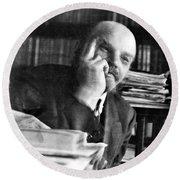 Vladimir Lenin (1870-1924) Round Beach Towel