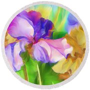 Voices Of Spring Round Beach Towel