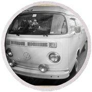 Volkswagen Westfalia Camper Round Beach Towel