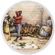 Voodoo Dance, 1885 Round Beach Towel