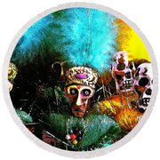 Voodoo For You Round Beach Towel