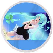 Votofel Force Round Beach Towel