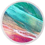 W 005 Round Beach Towel