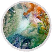 W 023 Round Beach Towel