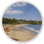 Wailea Beach Round Beach Towel
