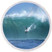 Waimea Bay Boomer Round Beach Towel by Kevin Smith