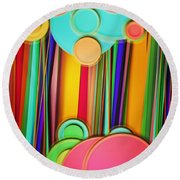 Wallpaper 15 Round Beach Towel