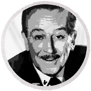 Walt Round Beach Towel