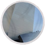 Walt Disney Concert Hall 13 Round Beach Towel
