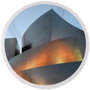 Walt Disney Concert Hall 19 Round Beach Towel