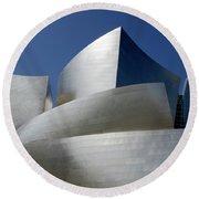 Walt Disney Concert Hall 45 Round Beach Towel