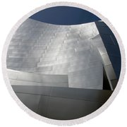 Walt Disney Concert Hall 48 Round Beach Towel