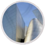 Walt Disney Concert Hall 7 Round Beach Towel