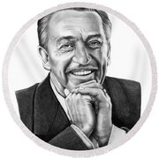 Walt Disney Round Beach Towel