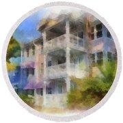 Walt Disney World Old Key West Resort Villas Pa 01 Round Beach Towel